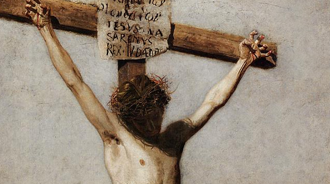 """The Seven Last Words from the Cross: """"Into Your hands I ..."""