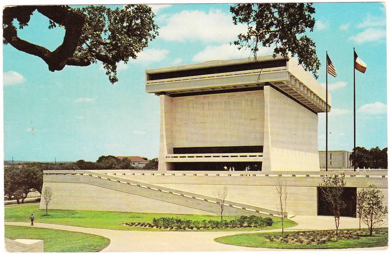 Vintage 1971 Postcard LBJ Library University of Texas ...