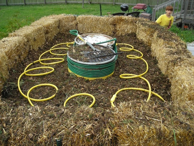 The Methane Midden - Heat / Energy with Compost by Robert Frost ...