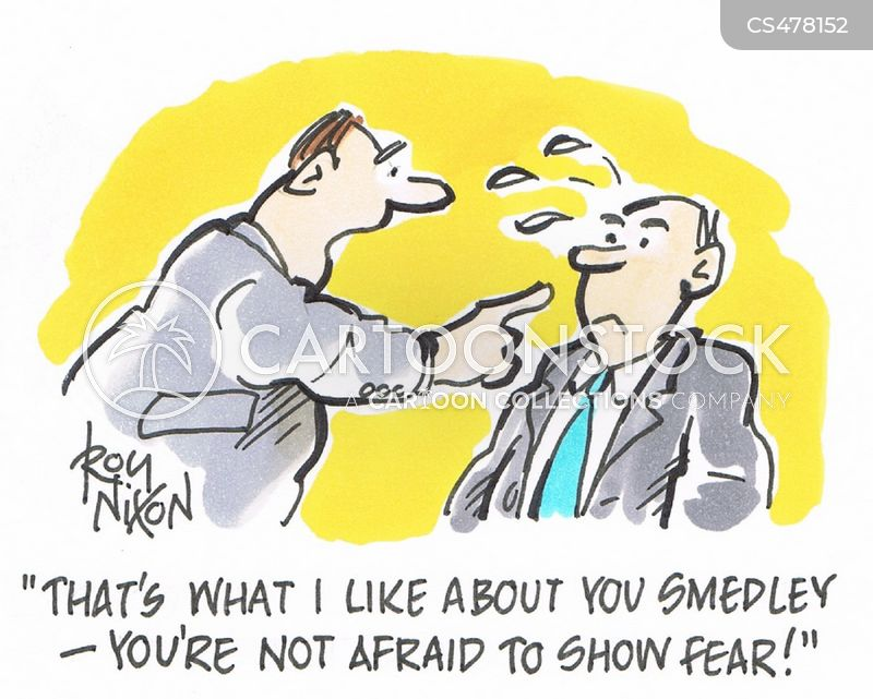 Showing Fear Cartoons and Comics - funny pictures from ...