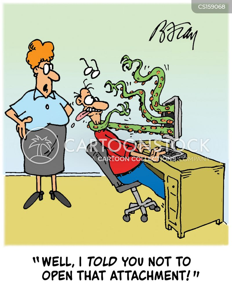 Computer Viruses Cartoons and Comics - funny pictures from ...