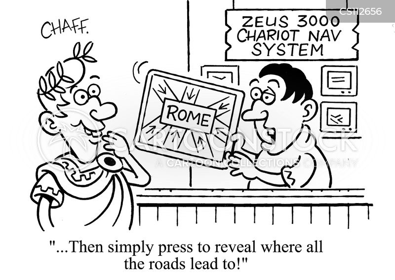 Navigation Systems Cartoons and Comics - funny pictures ...