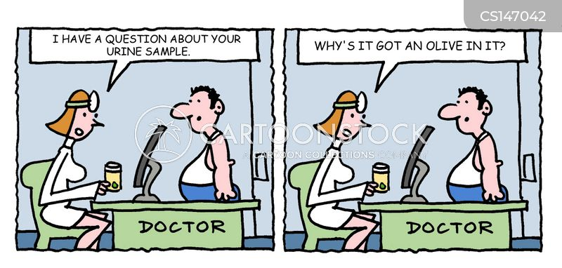 Urine Test Cartoons and Comics - funny pictures from ...