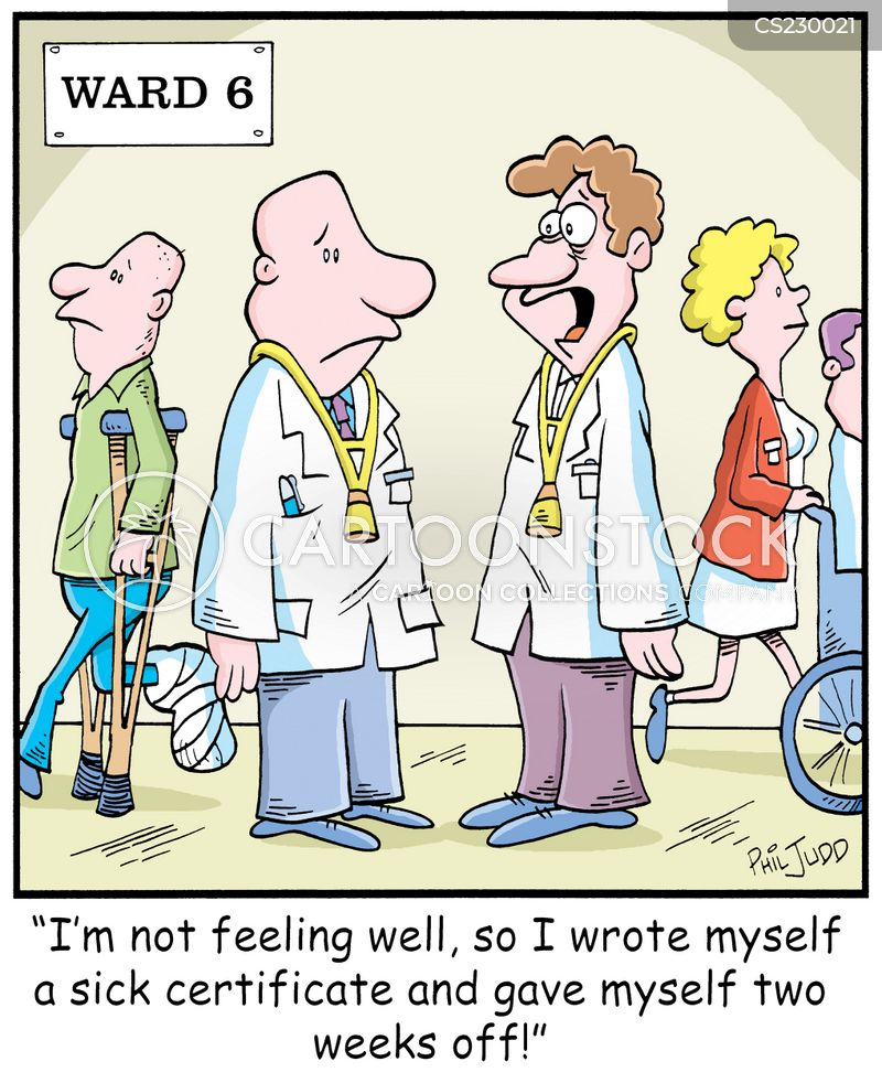 Sick Note Cartoons and Comics - funny pictures from ...