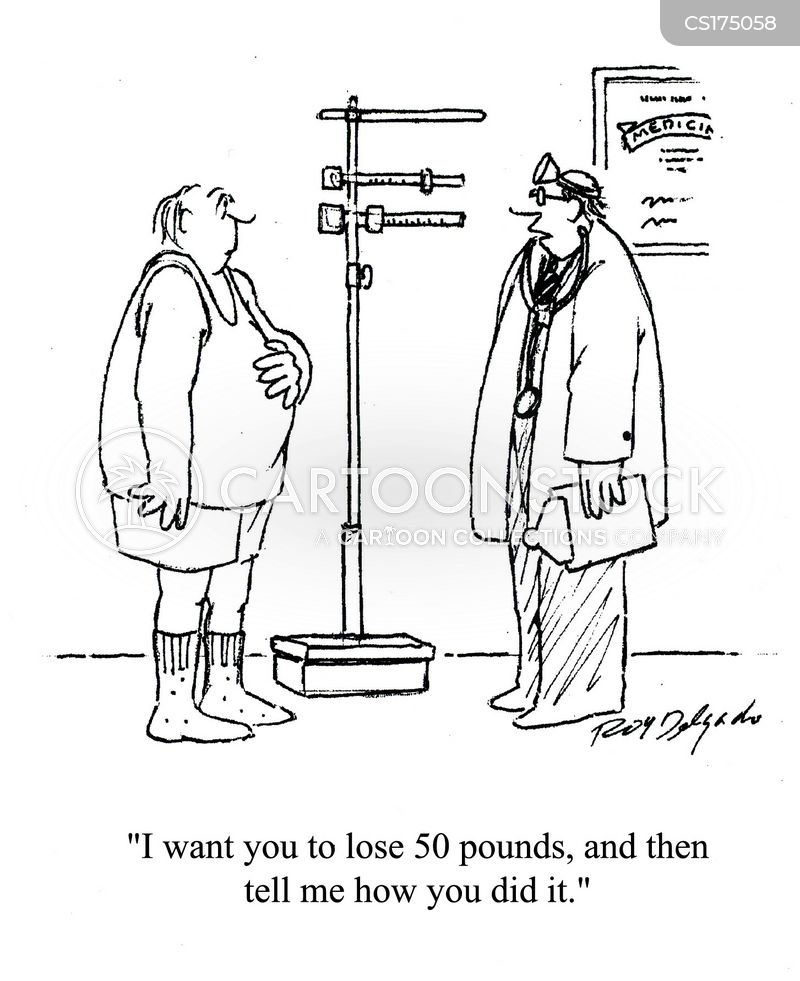 Loses Weight Cartoons and Comics - funny pictures from ...
