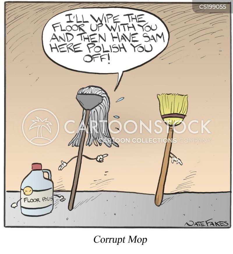 Cleaning Equipment Cartoons and Comics - funny pictures ...