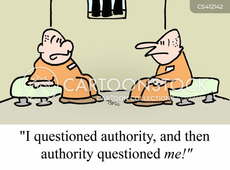 Questioning Authority Cartoons and Comics - funny pictures ...