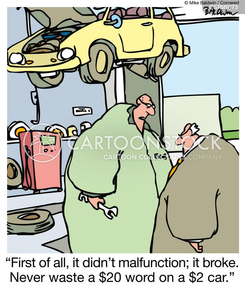 Broken Down Car Cartoons and Comics - funny pictures from ...