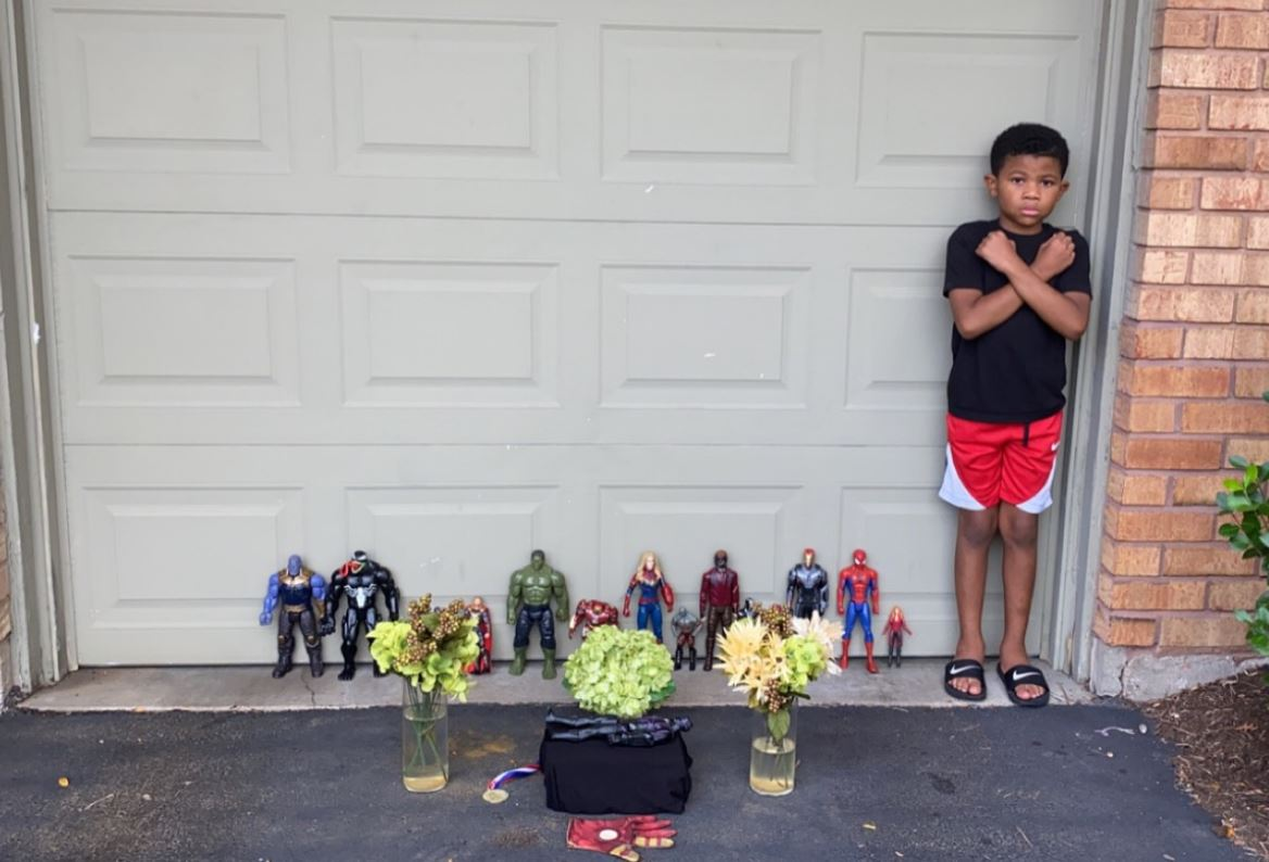 Kids Hold Heartbreaking Funerals for 'Black Panther' Star Chadwick Boseman