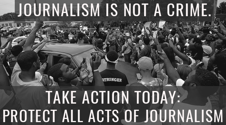 Tell St. Louis County: Journalism Is Not a Crime | Free Press