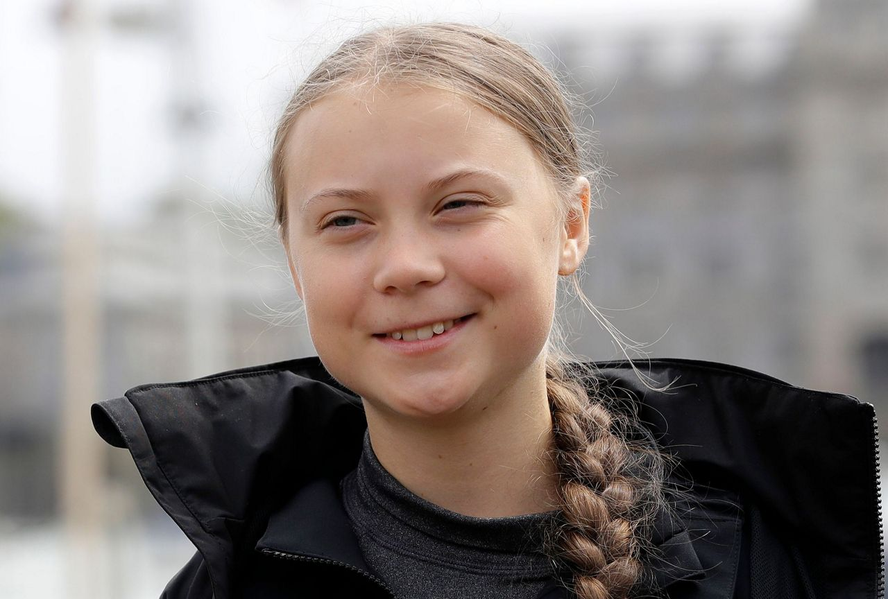 Eco-activist Greta Thunberg sets sail for New York