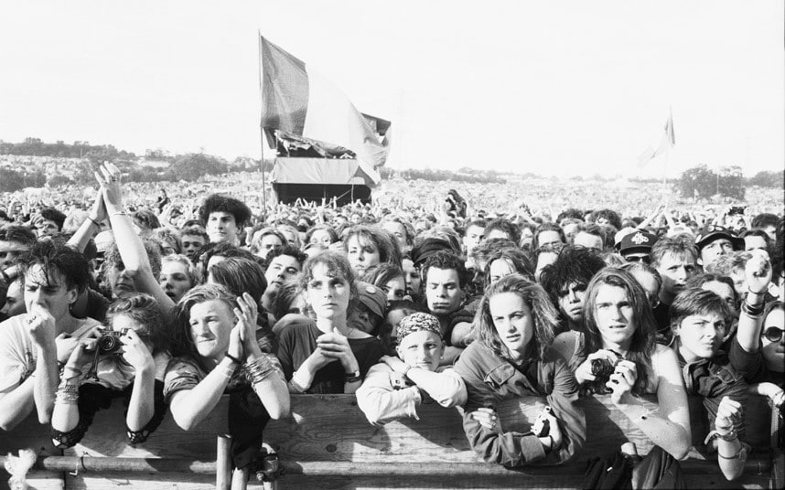 Glastonbury 1990 review: 'mud, rain and near-asphyxiation ...