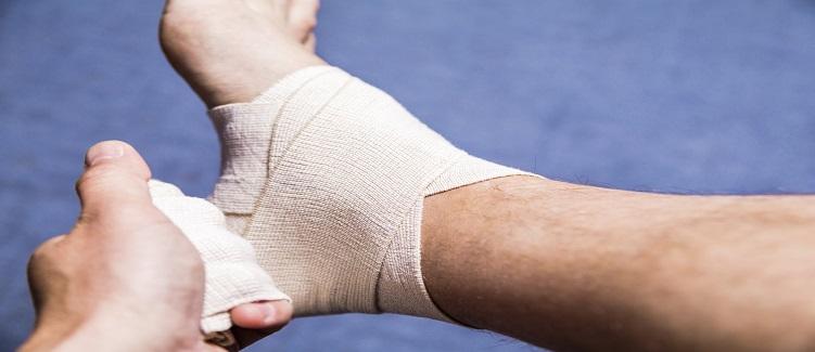 How to Wrap an Ankle Sprain | UPMC HealthBeat