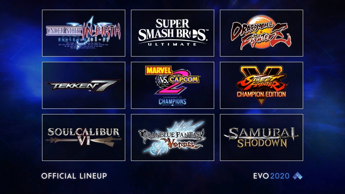 EVO 2020's official lineup has been announced   My Nintendo News ...
