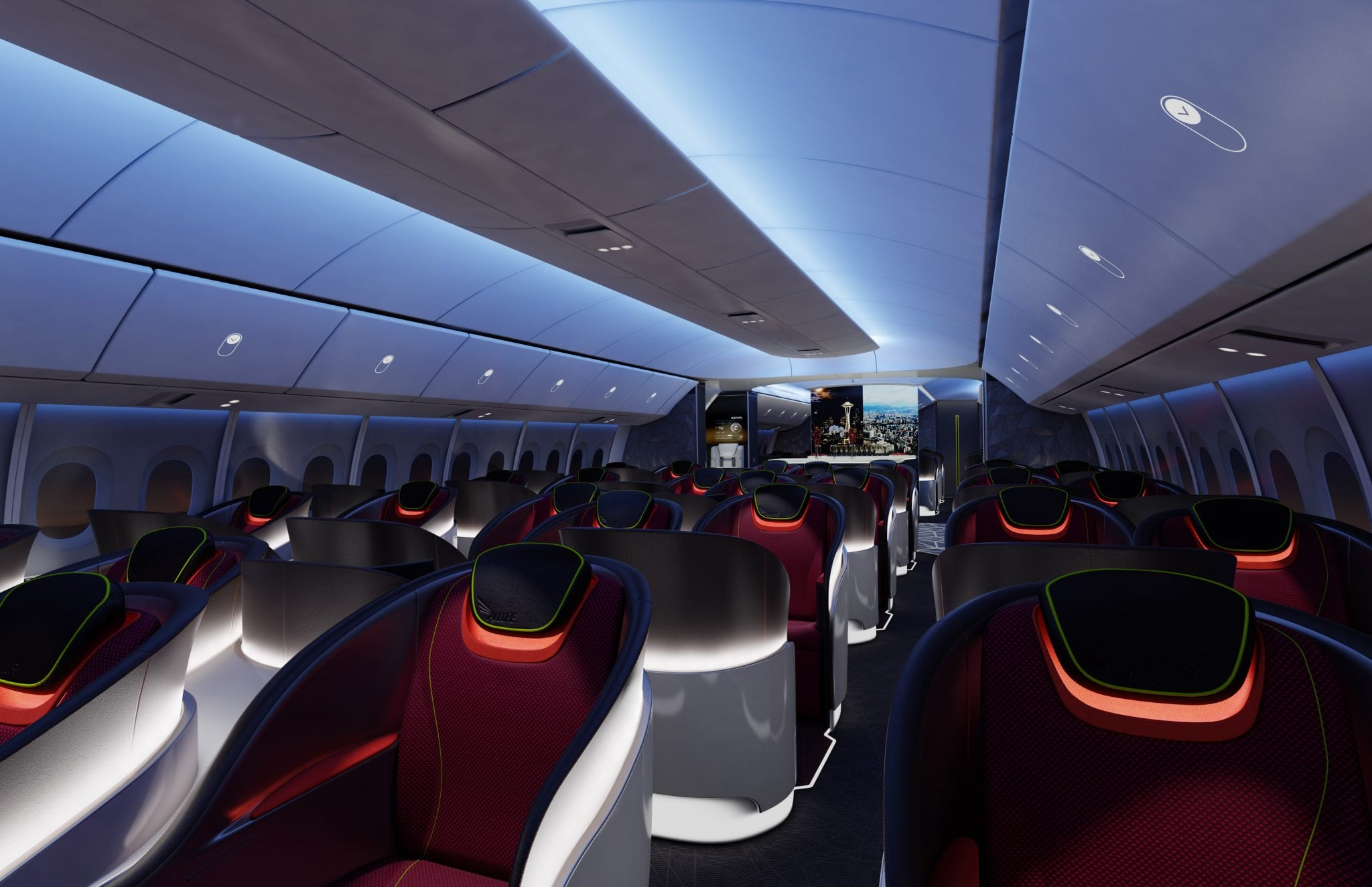 Boeing's New 777X Designs Intensify the Race for Space on ...