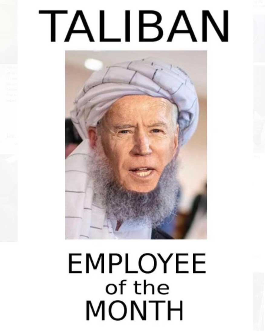 Taliban employee of the month - SnuggleDuck