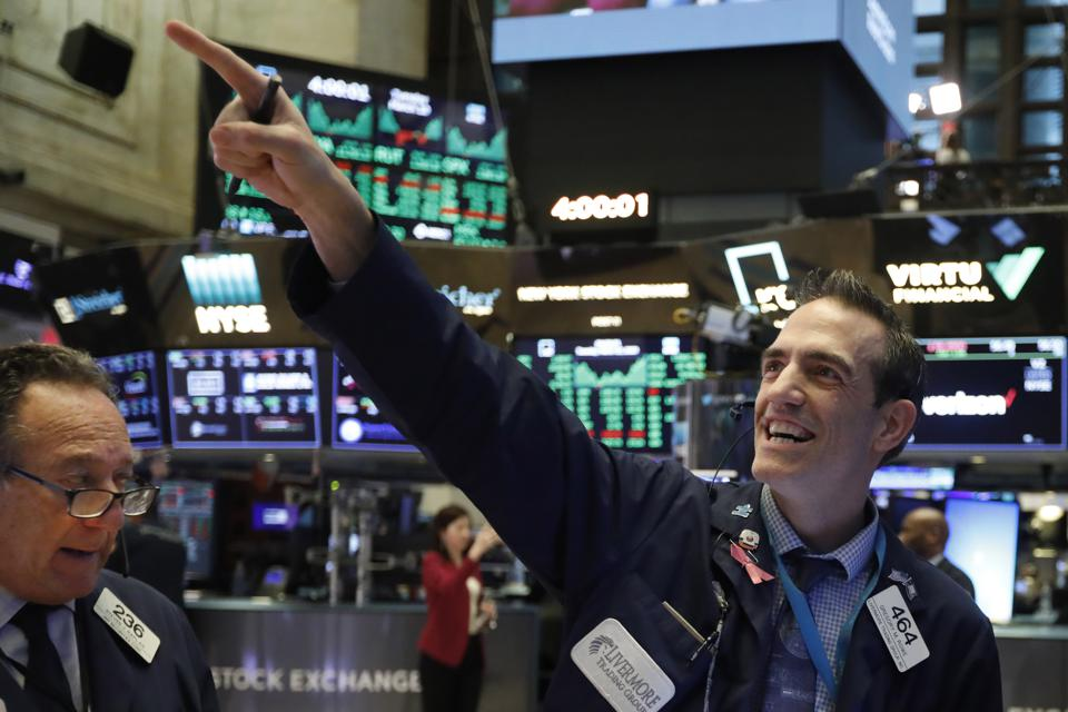 Dow jumps back 1100 points. A big comeback late on Tuesday…