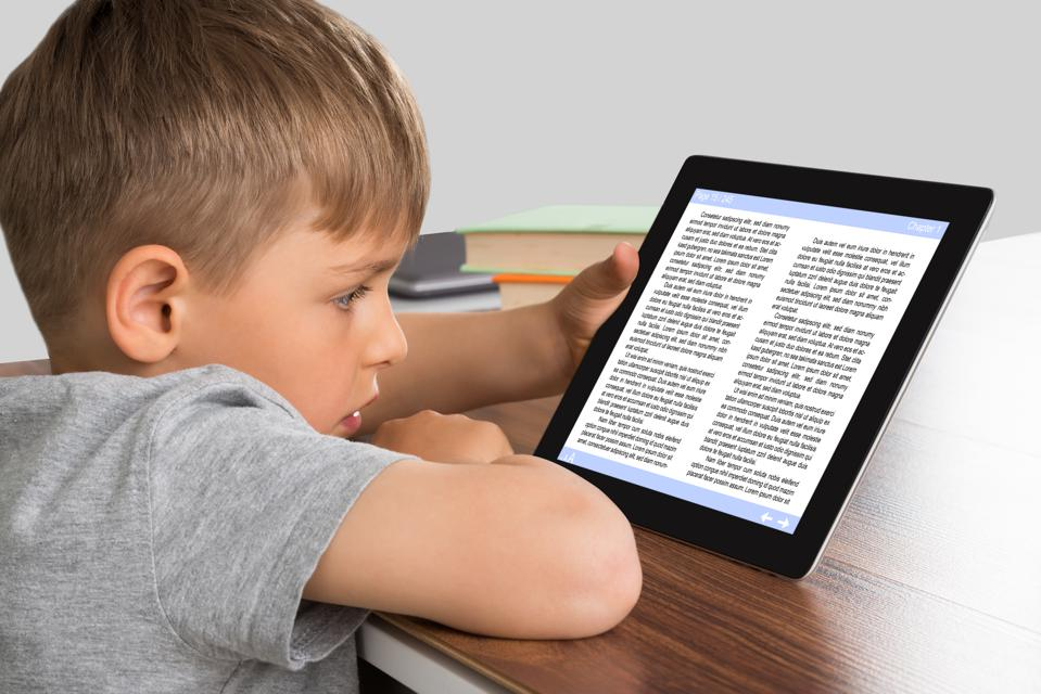 New Data: Students Who Read On Tablets Score Poorly In Reading…