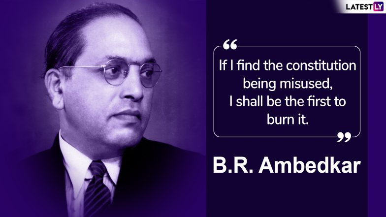 Ambedkar Jayanti 2019 Quotes on Dr Bhim Rao Ambedkar's ...