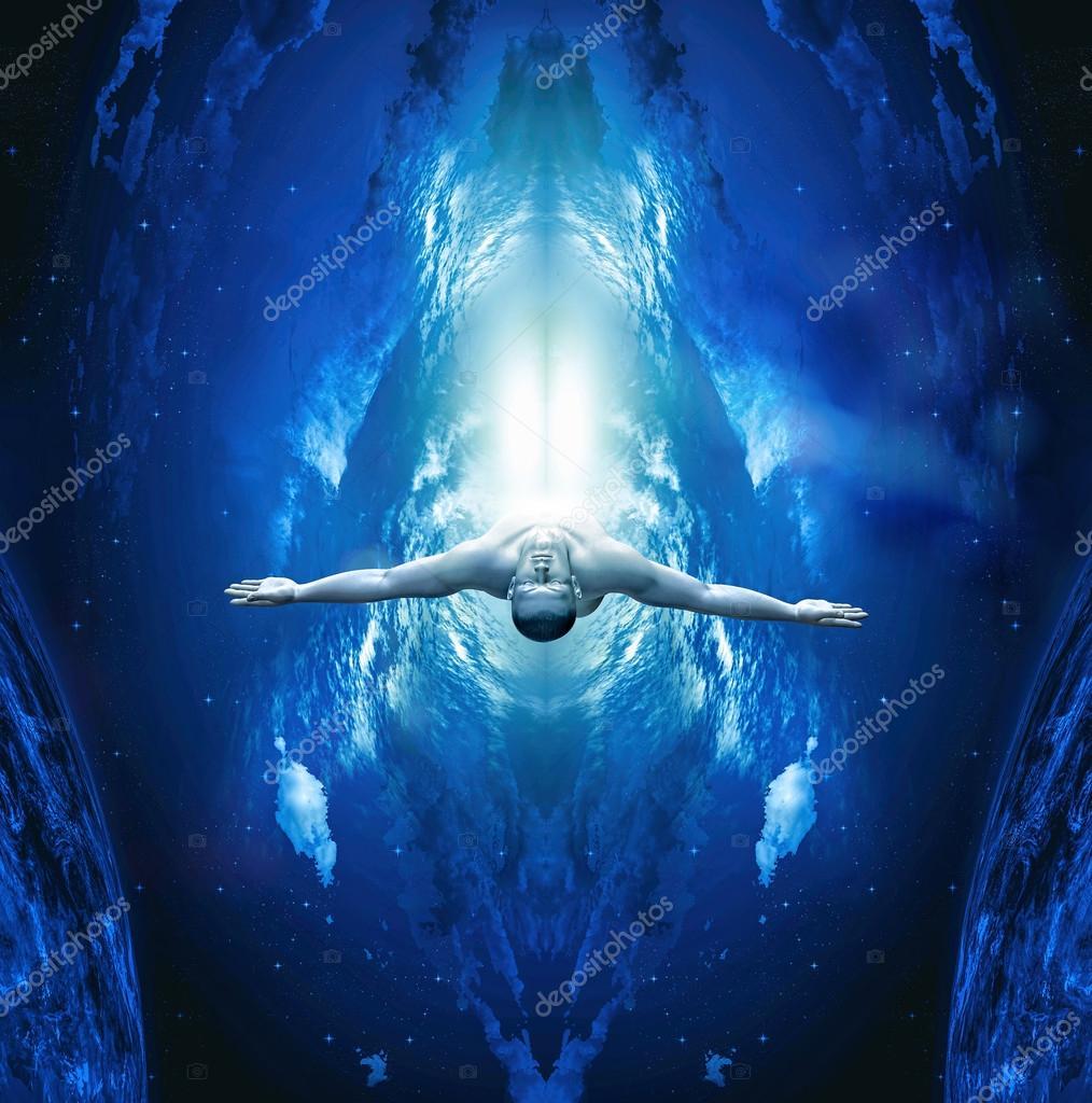 Quantum leap - Ascension — Stock Photo © Lightworker #88822264