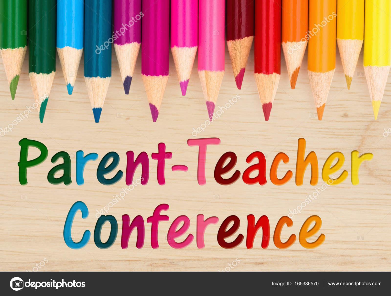 Parent Teacher Conference message ⬇ Stock Photo, Image by © karenr #165386570