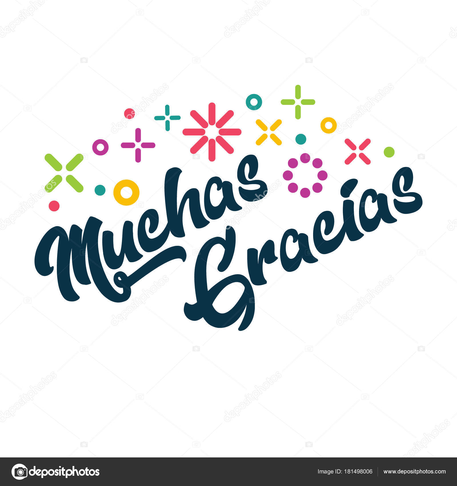 Imágenes: gracias | Muchas Gracias Español Gracias Tarjeta ...
