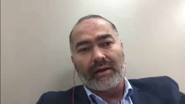 Billy Te Kahika from NZ Public Party on radio