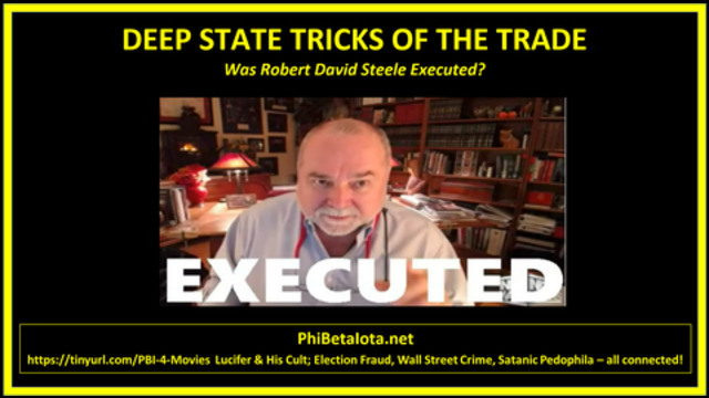 Mirror: Q - ROBERT DAVID STEELE HAS BEEN EXECUTED