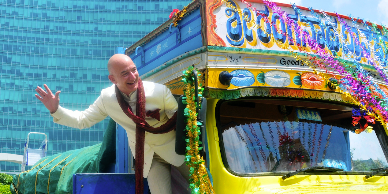 Indian business owners are furious about Amazon's $1 billion expansion into their country and are calling Jeff Bezos an 'economic terrorist' …