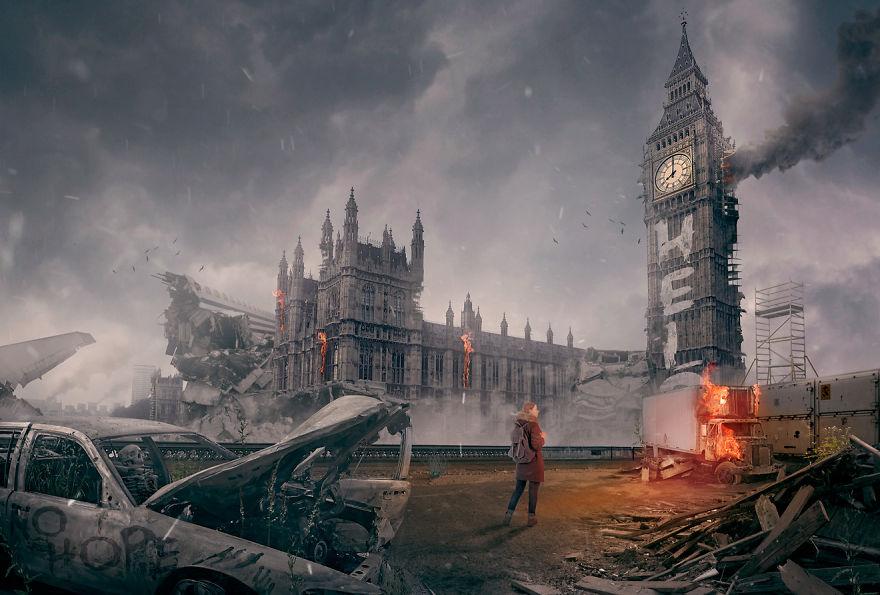 Designers Imagine Famous World Landmarks After A Zombie ...