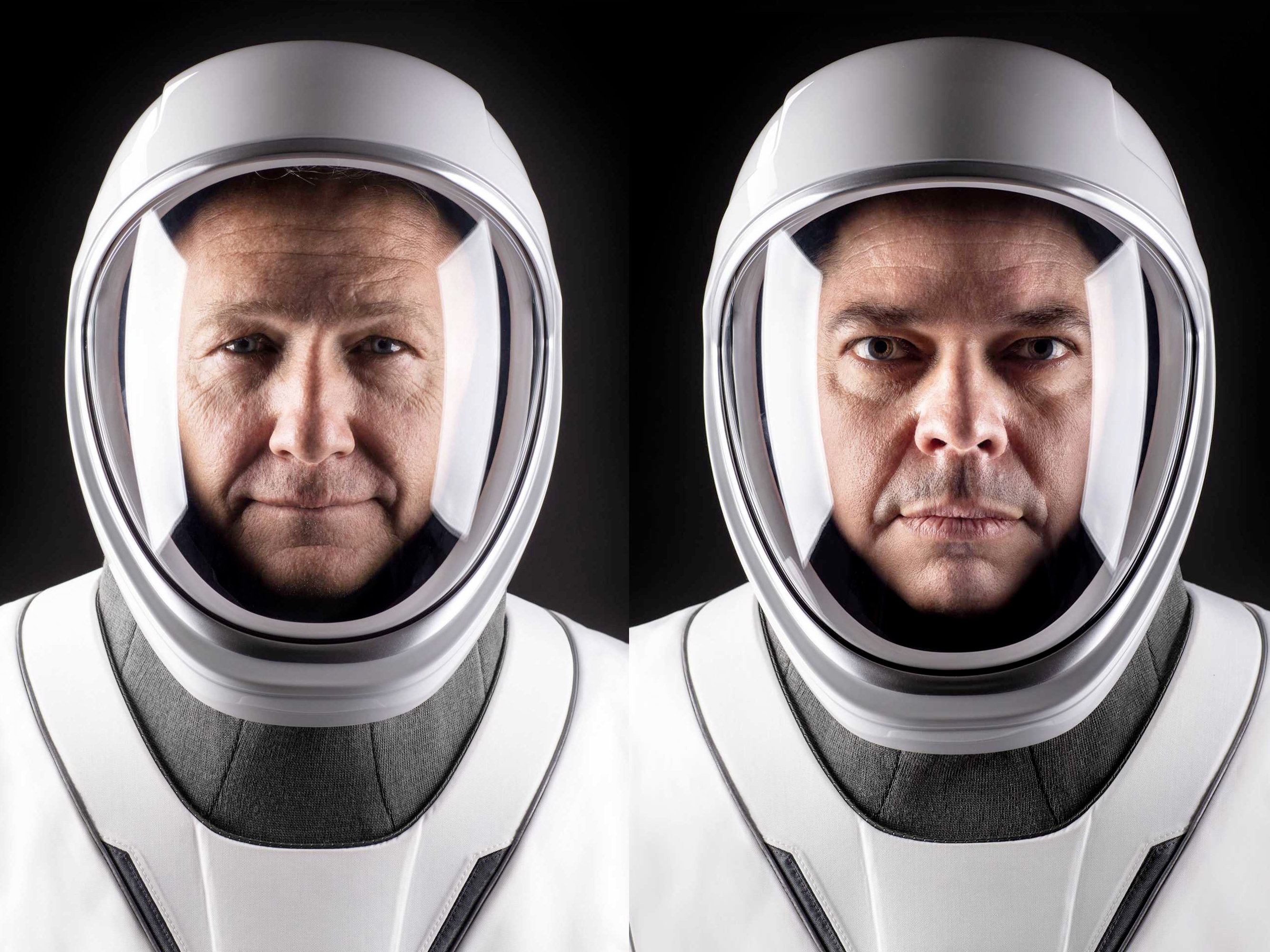 NASA astronauts Bob Behnken and Doug Hurley will be the first to fly SpaceX's Crew Dragon ...