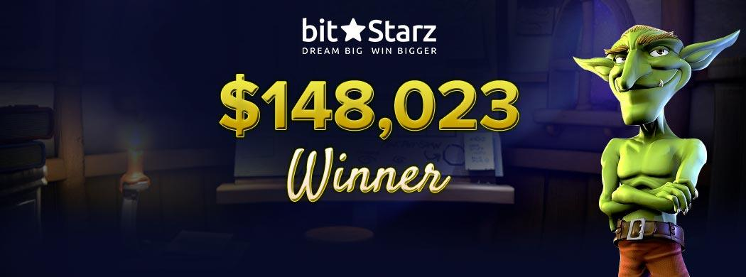 Big wins waits for you at BitStarz casino Canada
