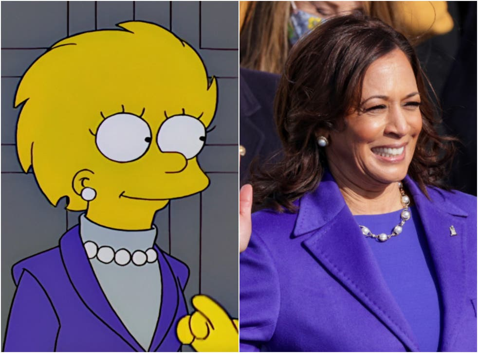 'The Simpsons' predicted the rise of Kamala Harris - maybe ...