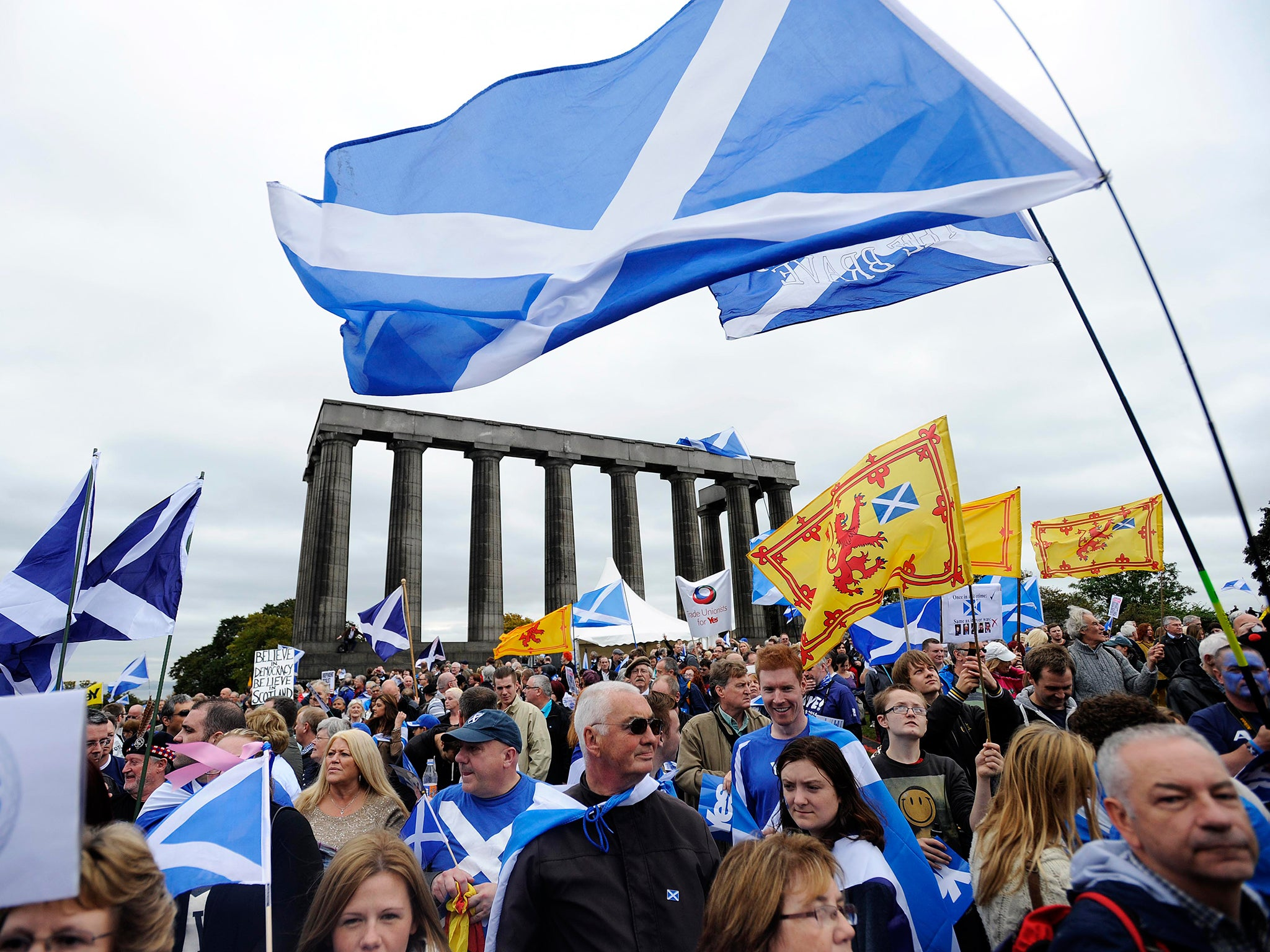 Scottish independence live: Scotland gives a clear 'No' in ...