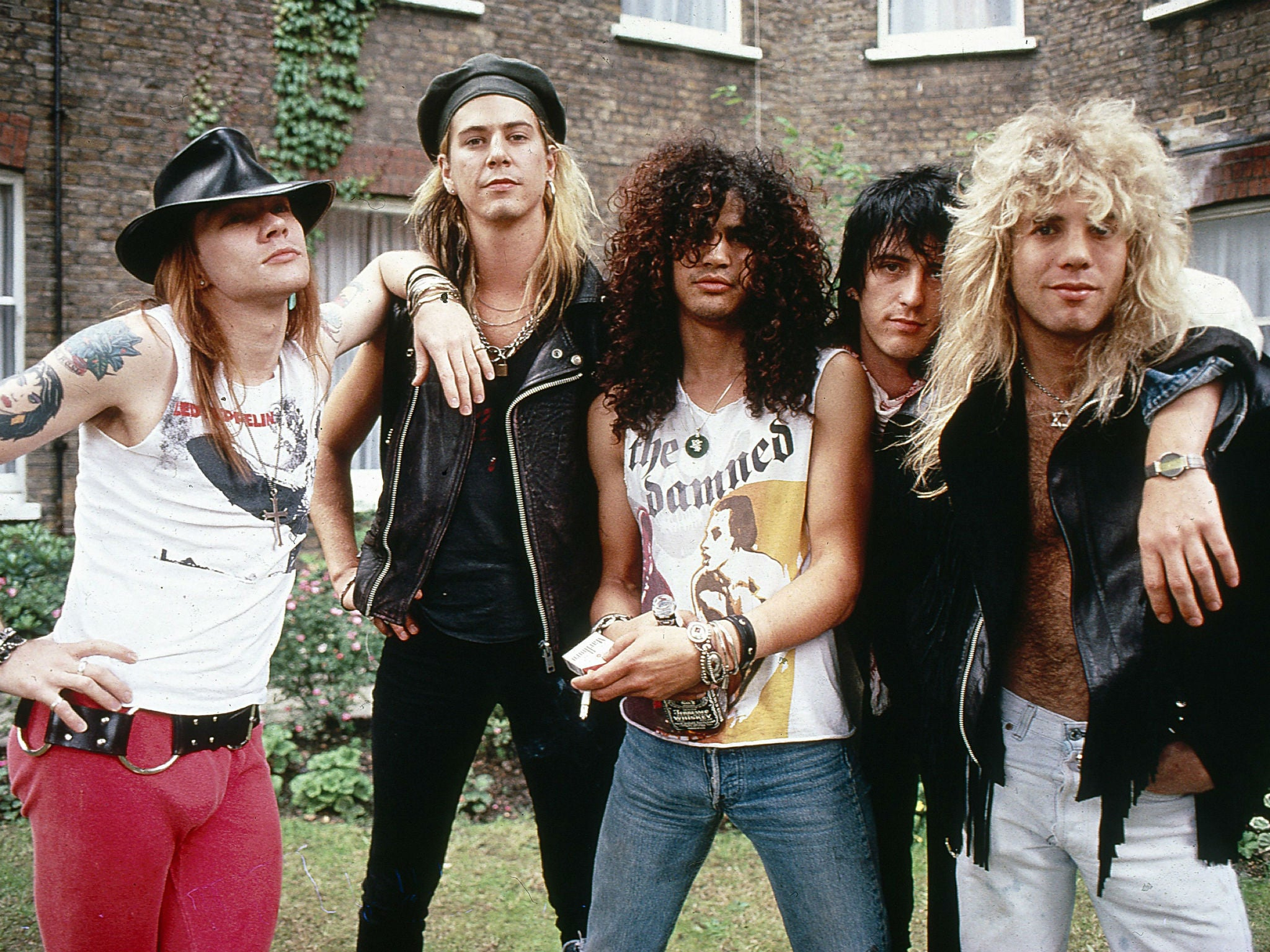Guns N' Roses reunion tour: Band set to play two arena ...