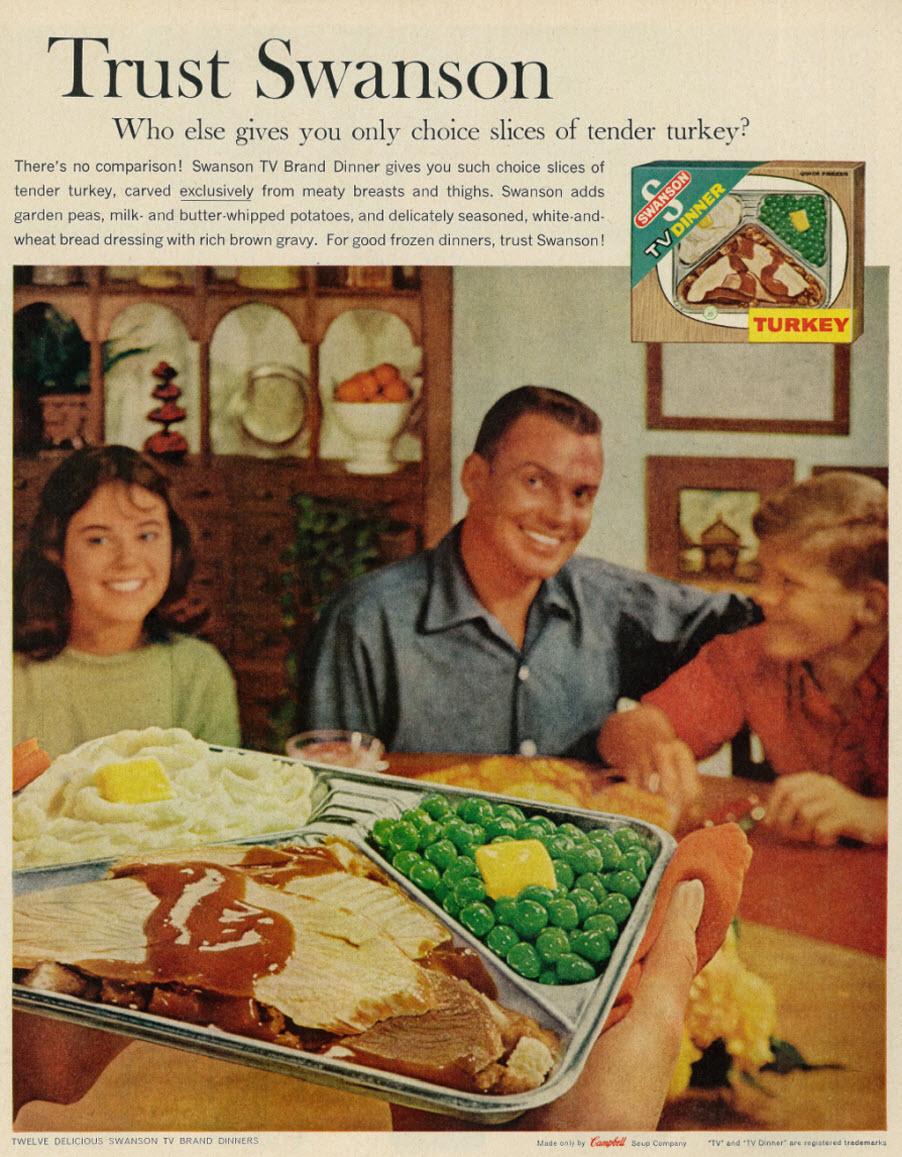 A Brief Compendium of the American TV Dinner