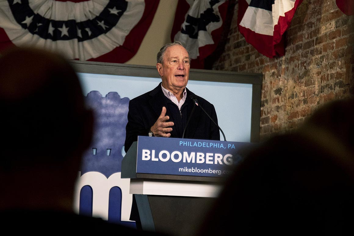 Michael Bloomberg and Tom Steyer have hit the $200 million mark combined, and Bloomberg, at least, is just getting started…