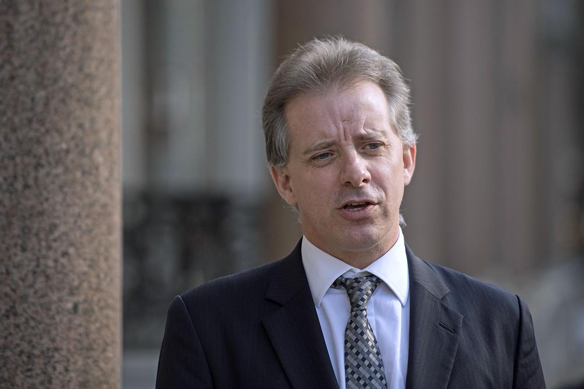 Steele Admits Hillary Clinton, Susan Rice Knew About His Anti-Trump Research…