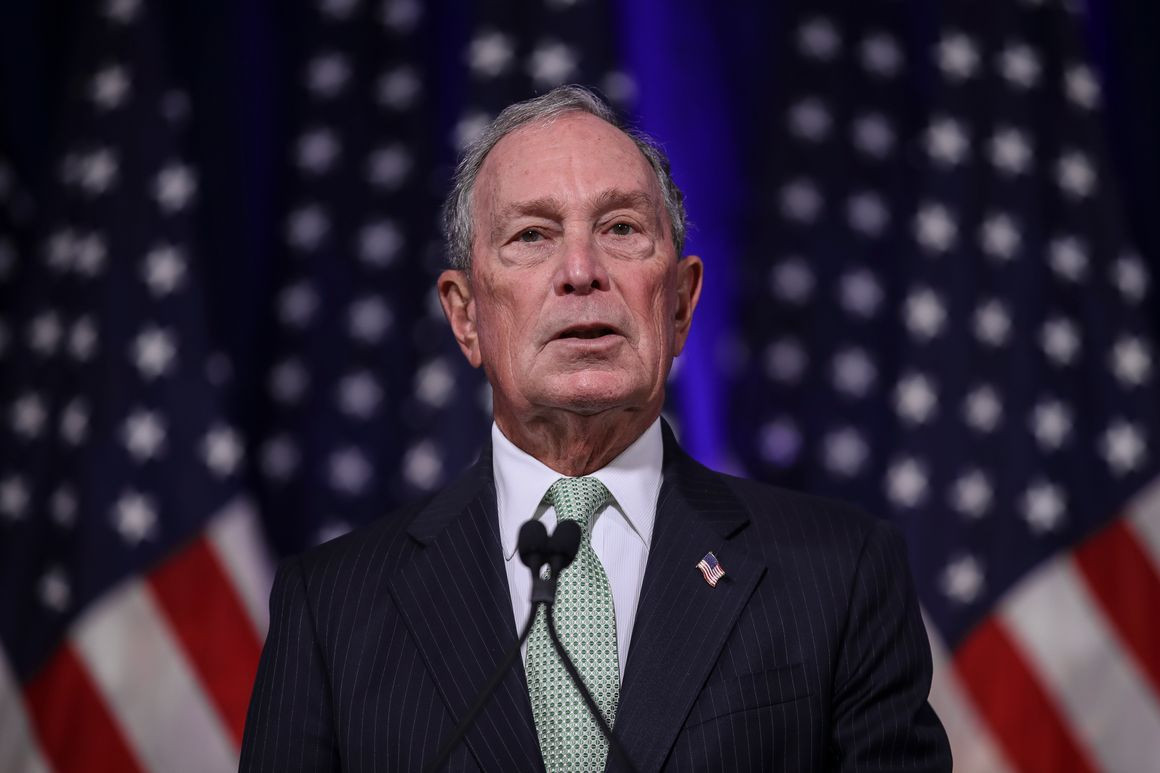 Bloomberg is willing to spend $2B on himself — or another Dem — to unseat Trump…