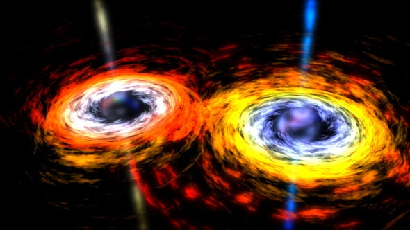 """Scientists are racing to confirm the detection of black hole """"echoes"""" that could unlock exotic new branches of physics and deepen our understanding of the fabric of reality…"""