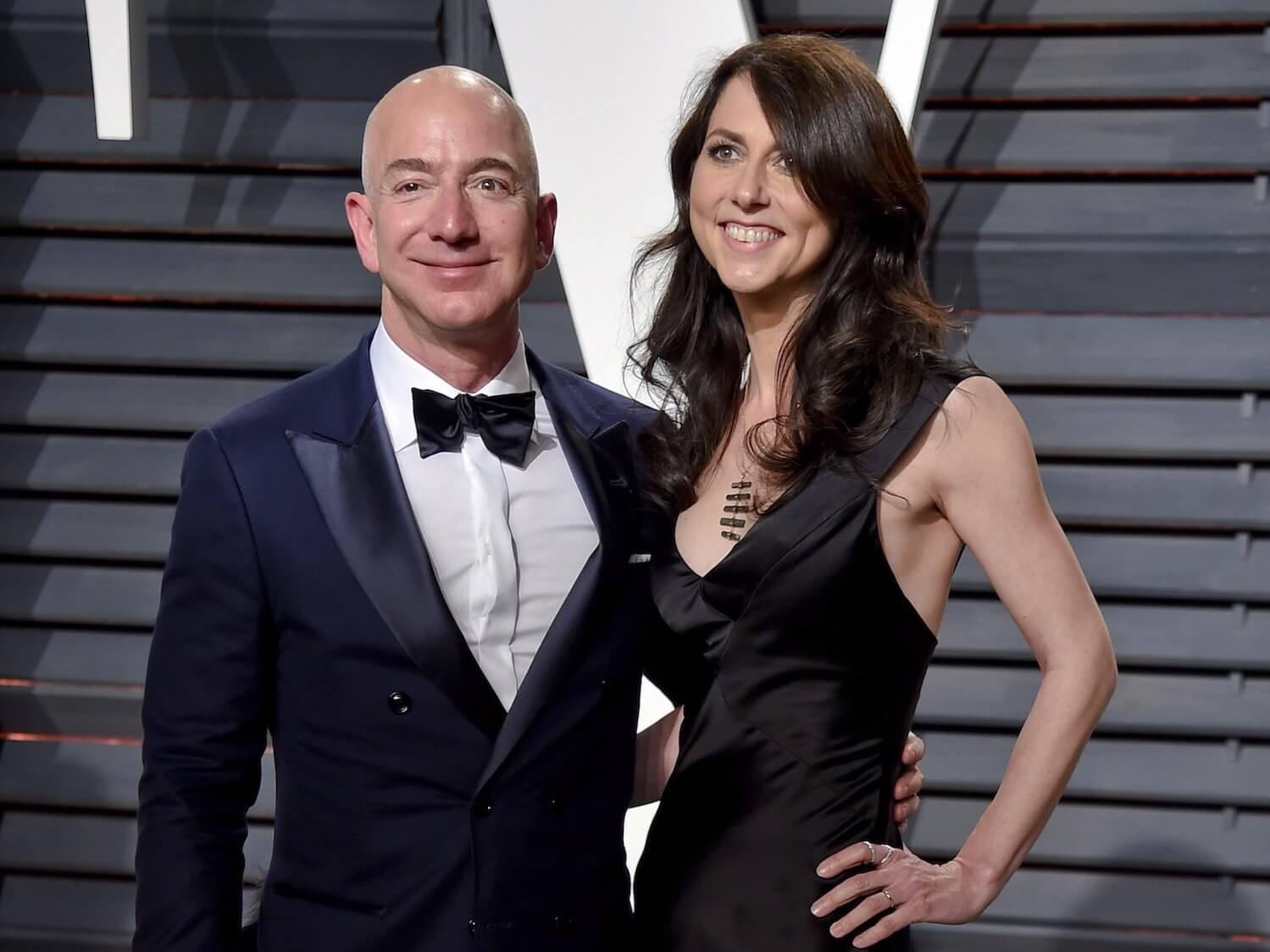 Jeff Bezos could hand half his Amazon shares to MacKenzie ...