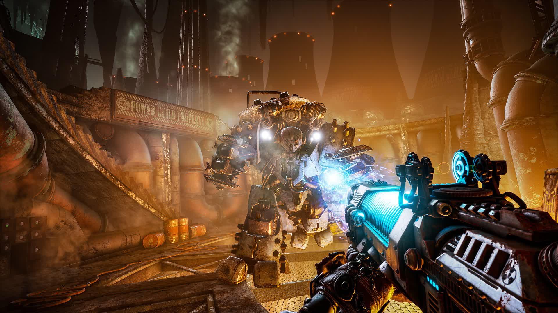 Watch the Necromunda: Hired Gun trailer; Doom meets Titanfall 2 in the Warhammer 40K universe ...