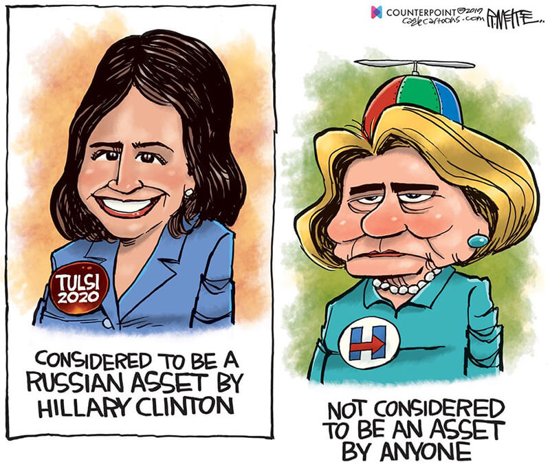 Hillary Clinton's Hatred For Tulsi Gabbard Summed Up By ...