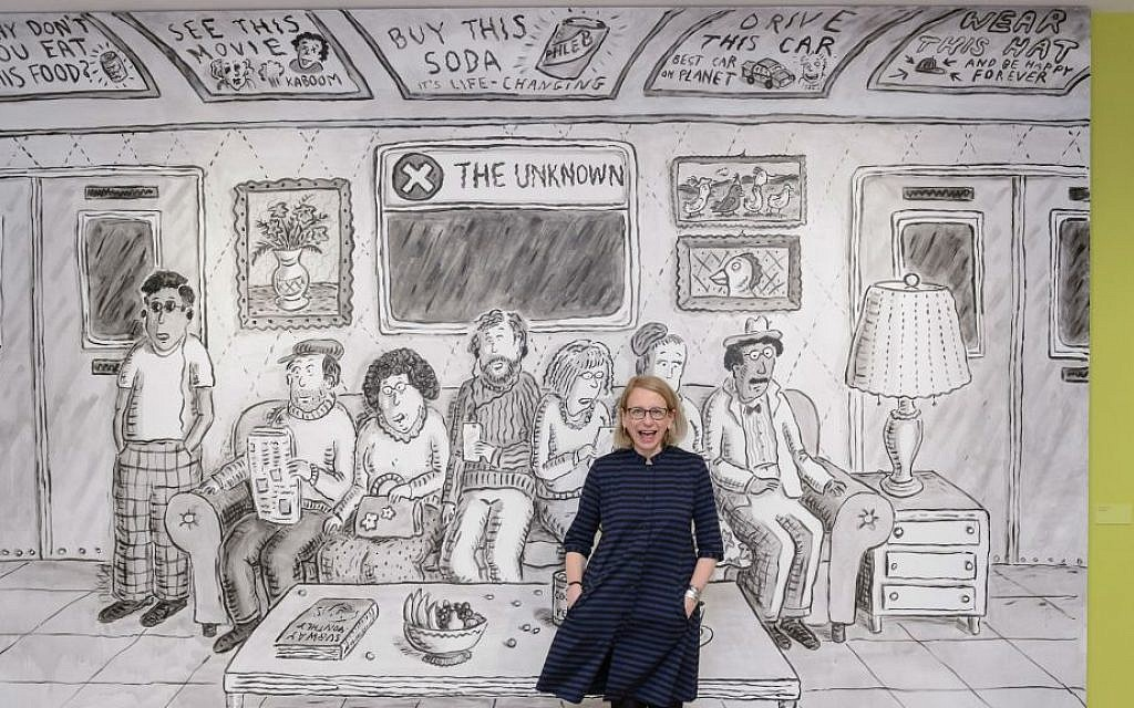 New Yorker cartoonist Roz Chast reflects on the little ...