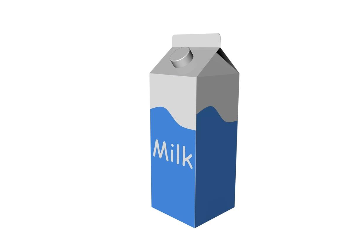 cinema4d milk carton