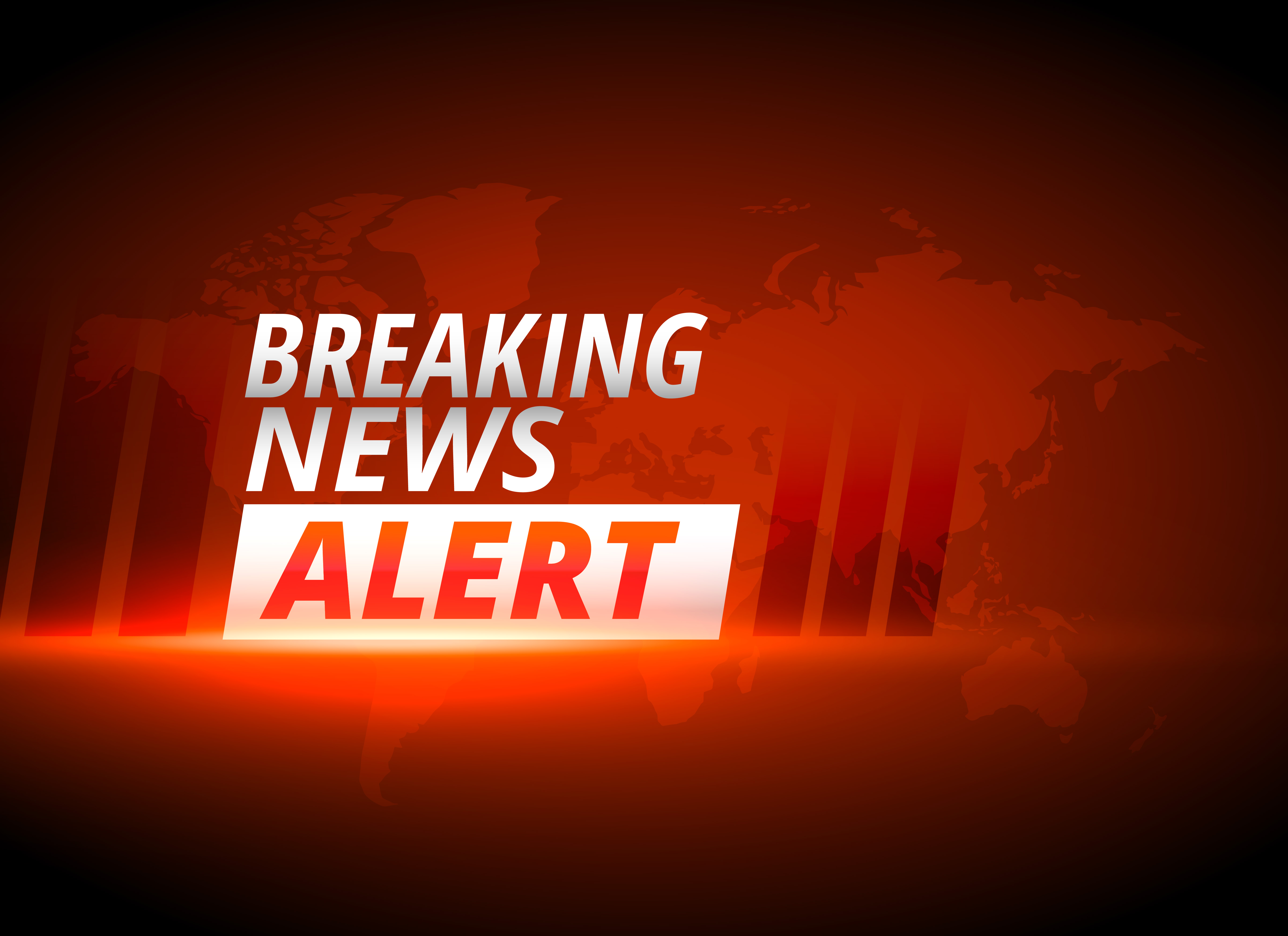 breaking news alert background in red theme - Download ...