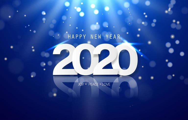 Happy New Year 2020 banner - Download Free Vectors ...