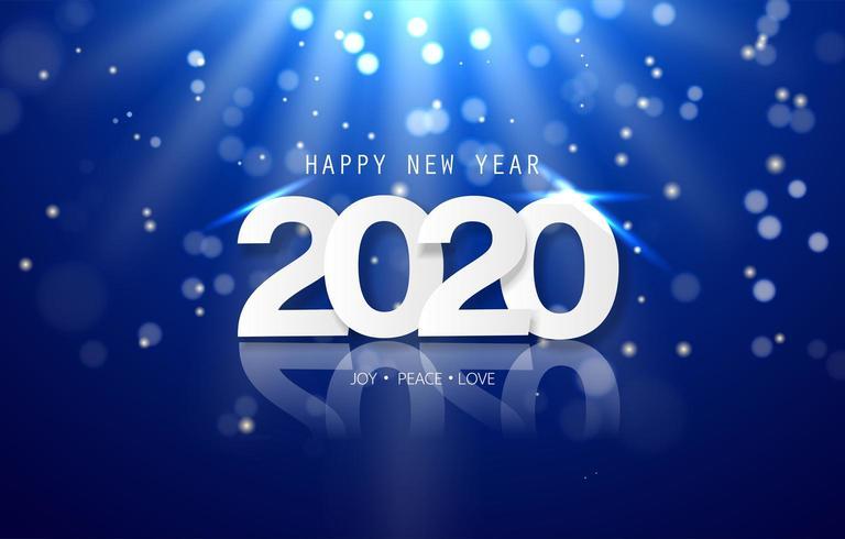 Happy New Year 2020 banner - Download Free Vectors ...