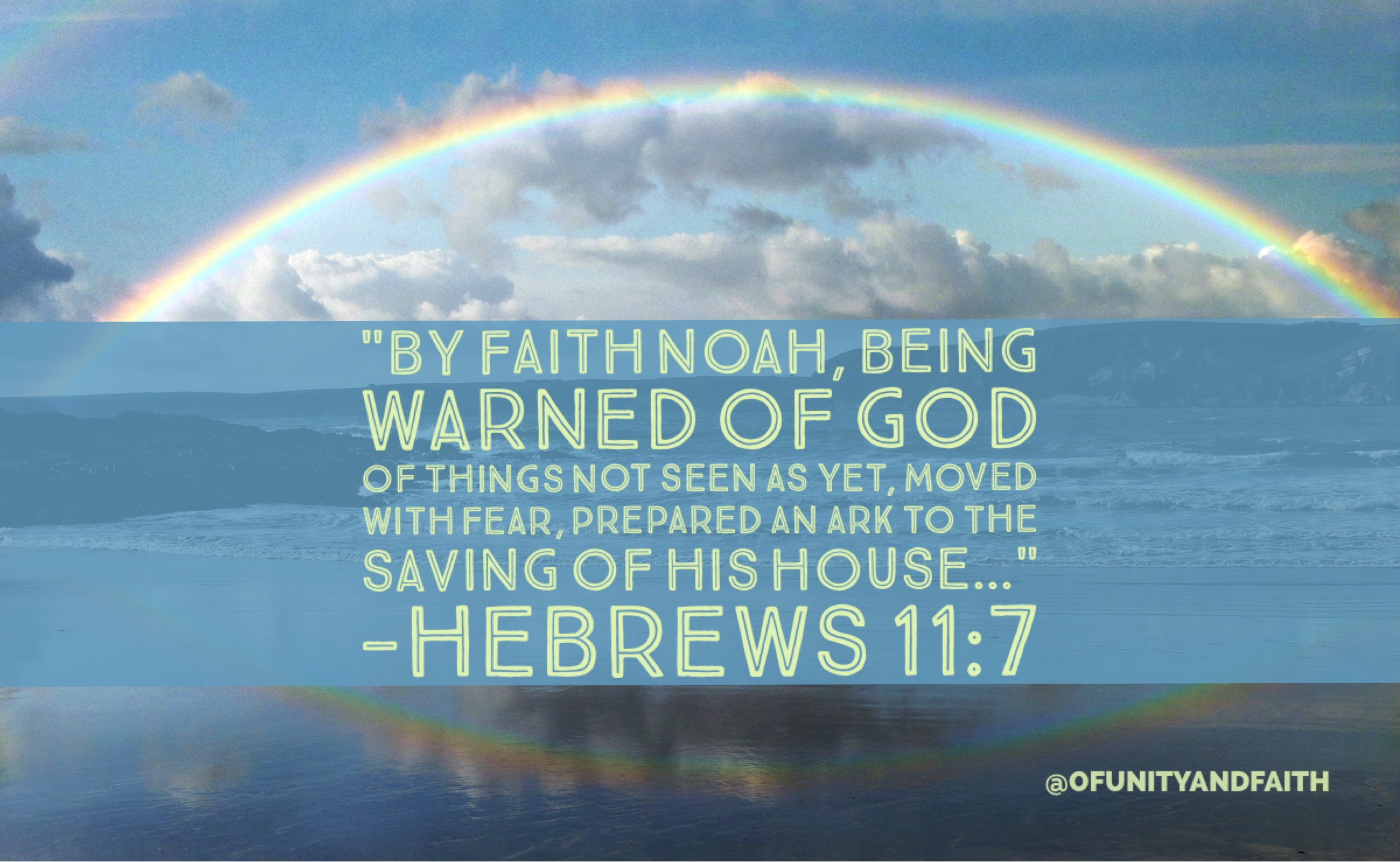 Noah's Example of Perseverance | of-unity-and-faith