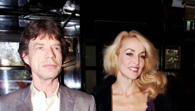 """Gente - Jerry Hall asegura que se lleva """"genial"""" con Mick ..."""